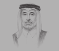Sketch of Abdulla bin Fahad bin Ghorab Al Marri, Chairman, Qatar First Bank (QFB)