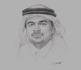 Sketch of  Abdulbasit Ahmed Al Shaibei, CEO, Qatar International Islamic Bank (QIIB)