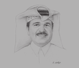Sketch of Khalid Mohammed Jolo, CEO, Nebras Power