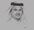 Sketch of Nasser bin Ali Al Mawlawi, President, Public Works Authority (Ashghal)