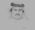Sketch of  Ibrahim Jassim Al Othman, President and CEO, United Development Company (UDC)