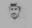 Sketch of Hassan Abdulrahman Al Ibrahim, Chief Tourism Development Officer, Qatar Tourism Authority (QTA)