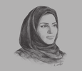 Sketch of  Fatma Al Remaihi, CEO, Doha Film Institute (DFI)
