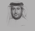 Sketch of Rashed Al Mansoori, Director-General, Abu Dhabi Systems and Information Centre (ADSIC)