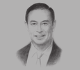 Sketch of Thomas Lembong, Chairman, Indonesia Investment Coordinating Board (BKPM)