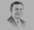 Sketch of Batara Sianturi, CEO, Citi Indonesia; and Chairman, International Banks Association of Indonesia