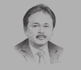 Sketch of Tito Sulistio, CEO, Indonesia Stock Exchange