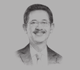 Sketch of Bambang Tjahjono, President Director, AirNav Indonesia