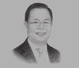 Sketch of Eddy Hussy, Chairman, Real Estate Indonesia