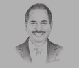 Sketch of Arief Yahya, Minister of Tourism