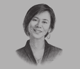 Sketch of Ay-Tjhing Phan, Tax Leader, PwC Indonesia