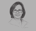 Sketch of Sri Mulyani Indrawati, Former Managing Director, World Bank