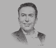 Sketch of Issam Darwish, Executive Vice-Chairman and Group CEO, IHS Towers