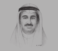 Sketch of  Yousef Mohammed Al Ali, Minister of Commerce and Industry