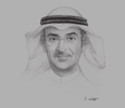 Sketch of Nayef Al Hajraf, Chairman and Managing Director, Capital Markets Authority (CMA)