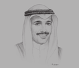 Sketch of Marzouq Ali Al Ghanim, Speaker, Kuwait National Assembly