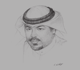 Sketch of Sheikh Yousef Al Abdullah Al Sabah Al Nasser Al Sabah, Director-General, Kuwait Ports Authority; and President, Arab Sea Ports Federation
