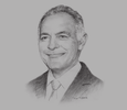 Sketch of Salaheddine Mezouar, Minister of Foreign Affairs and Cooperation; and President, 22nd Conference of the Parties (COP22)