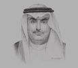 Sketch of Khaled Al Araj, Minister of Civil Service