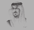 Sketch of Prince Saud bin Khalid Al Faisal Al Saud, Acting Governor, Saudi Arabian General Investment Authority (SAGIA)