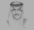 Sketch of Mohammed Al Jadaan, Chairman, Capital Market Authority (CMA)