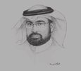 Sketch of Abdulkarim Al Nujaidi, Director-General, Human Resources Development Fund (HRDF)