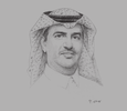 Sketch of Raeed Al Tamimi, CEO, Tawuniya