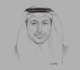 Sketch of Hussein S Al Amoudi, Chairman, Shamayel United Development Company