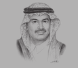 Sketch of Ghassan Al Shibl, Senior Advisor to the Board of Directors and Former CEO, Advanced Electronics Company