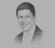 Sketch of Faysal Elhajjami, Country General Manager, DHL