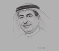 Sketch of Suleiman Al Hamdan, Minister of Transport