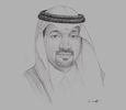 Sketch of Bader Al Saedan, Managing Director, Al Saedan Real Estate