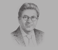 Sketch of Mounib Hammoud, CEO, Jeddah Economic Company