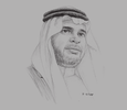 Sketch of Ahmed Aleissa, Minister of Education