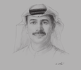 Sketch of <p> Essa Kazim, Chairman, Dubai Financial Market (DFM)</p>