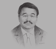 Sketch of Abdellah Abbad, President, Chamber of Commerce, Industry and Services – Rabat-Salé-Kénitra Region, Morocco