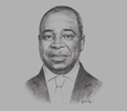 Sketch of Pierre Moussa, President, CEMAC Commission