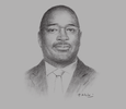 Sketch of Etienne Dieudonné Ngoubou, Minister of Petrol and Hydrocarbons