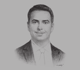Sketch of Feras Kilani, Partner, Operational Transaction Services, MENA, EY