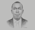 Sketch of Richard Anamoo, Director-General, Ghana Ports and Harbours Authority (GPHA)