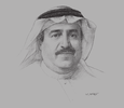 Sketch of Adnan Ahmed Yousif, President and CEO, Al Baraka Banking Group