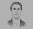 Sketch of David Blumberg, ‎CEO, Blumberg Grain Middle East & Africa
