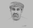 Sketch of Khalifa Al Barwani, CEO, National Centre for Statistics and Information (NCSI)