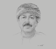 Sketch of Hamood Sangour Al Zadjali, Executive President, Central Bank of Oman (CBO)