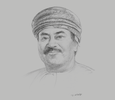 Sketch of AbdulRazak Ali Issa, CEO, Bank Muscat