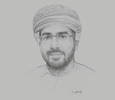 Sketch of Said Abdullah Mandhari, CEO, Oman Broadband Company