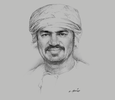 Sketch of Pankaj Khimji, Director, Khimji Ramdas; and Director, Muscat University