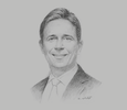 Sketch of Nick Simpson, Co-Managing Partner, Dentons