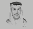 Sketch of Abdul Latif Al Zayani, Secretary-General, GCC