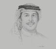 Sketch of Khalid Al Rumaihi, Chief Executive, Bahrain Economic Development Board